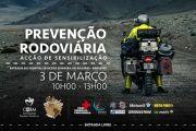 """CHBM promove ação de sensibilização sobre prevenção rodoviária - Partida da comitiva """"Sul América Norte - 2018"""""""