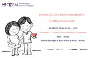 Promoção do empoderamento da grávida/casal - Sessões temáticas 2019