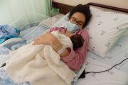 Maria Helena é a primeira bebé de 2021 do CHBM