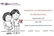 Sessões temáticas - Promoção do empoderamento da grávida/casal