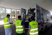 CHBM recebeu várias vítimas no simulacro CASCADE'19